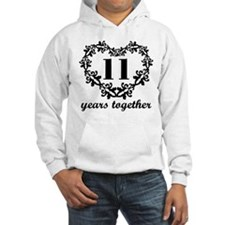 11th Anniversary Heart Jumper Hoody