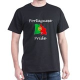 Portuguese Pride Black T-Shirt
