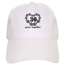 30th Anniversary Heart Baseball Cap