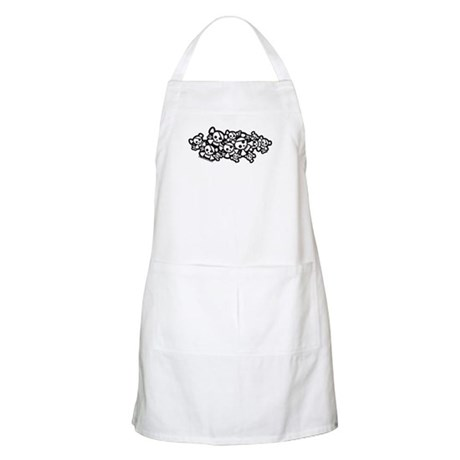 Cute Pirate Skulls Apron