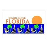 Sanibel island Postcards (Package of 8)