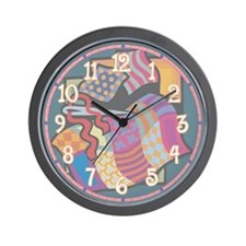 Quilting Wall Clock
