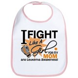 Fight Like a Girl Leukemia Bib