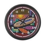 Weaving Large Wall Clock