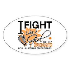 Fight Like a Girl Leukemia Decal