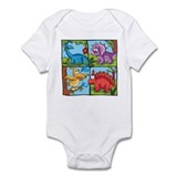 Dino Friends Infant Creeper