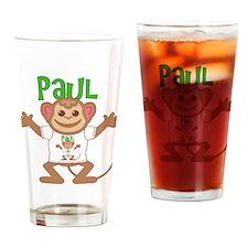 Little Monkey Paul Drinking Glass