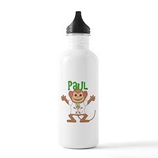Little Monkey Paul Water Bottle