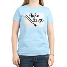 """Luke 22:36"" with Roman gladius Women's Pink T-Shi"
