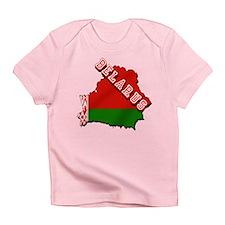 Belarus Map Flag Infant T-Shirt