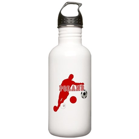 Polish Soccer Player Stainless Water Bottle 1.0L