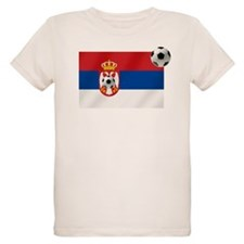 Serbian Football Flag T-Shirt