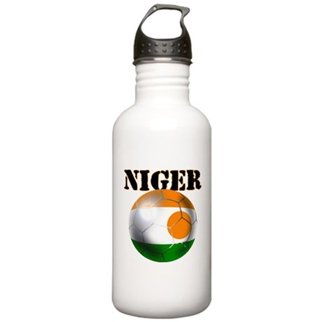 Niger Soccer Stainless Water Bottle 1.0L
