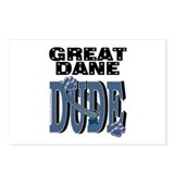 Great Dane DUDE Postcards (Package of 8)
