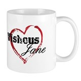 Abstract Heart Small Mugs - Vishous and Jane