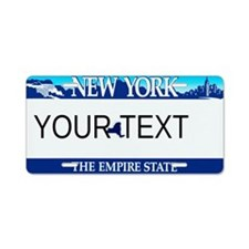 New York Customizable Plate