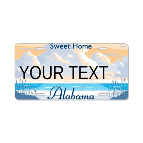 Alabama Customizable Plate