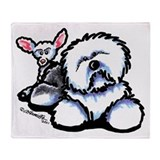 OES n' Ewe Cute Throw Blanket