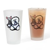 OES n' Ewe Cute Drinking Glass