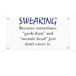 Swearing Banner