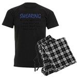 Swearing Men's Dark Pajamas
