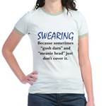 Swearing Jr. Ringer T-Shirt
