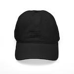 Off Center Black Cap