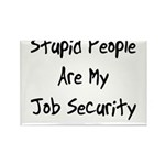 Job Security Rectangle Magnet (100 pack)