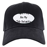 Job Security Black Cap
