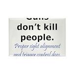 Guns Trigger Rectangle Magnet (100 pack)