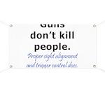 Guns Trigger Banner