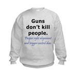 Guns Trigger Kids Sweatshirt