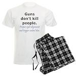 Guns Trigger Men's Light Pajamas