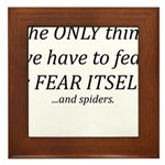 Fear Itself Framed Tile