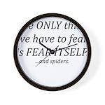 Fear Itself Wall Clock