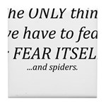Fear Itself Tile Coaster