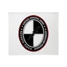 75th Ranger SOCOM Throw Blanket