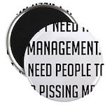 Anger Management Magnet