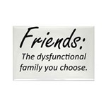 Friends Dysfunction Rectangle Magnet (10 pack)