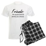 Friends Dysfunction Men's Light Pajamas