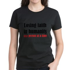 Losing Faith Women's Dark T-Shirt