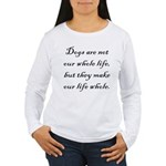 Dog Whole Women's Long Sleeve T-Shirt