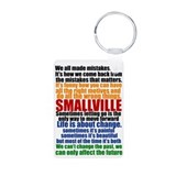 Smallville Quotes Aluminum Photo Keychain