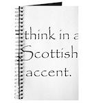 Scottish Accent Journal