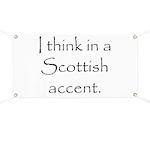 Scottish Accent Banner