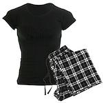 Scottish Accent Women's Dark Pajamas