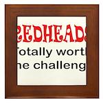 Redheads Framed Tile