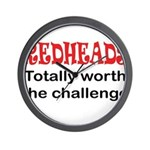 Redheads Wall Clock