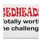Redheads Tile Coaster