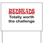 Redheads Yard Sign